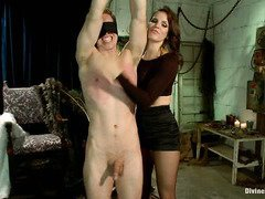 Mistress wants handsome stud to submit totally to her divine power and dominance