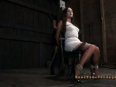Beauty's needs harsh punishment in order for her to enjoy her pain activity