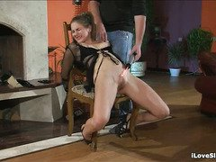 Wicked babe needs some wild punishment from stud for being such a nasty bitch