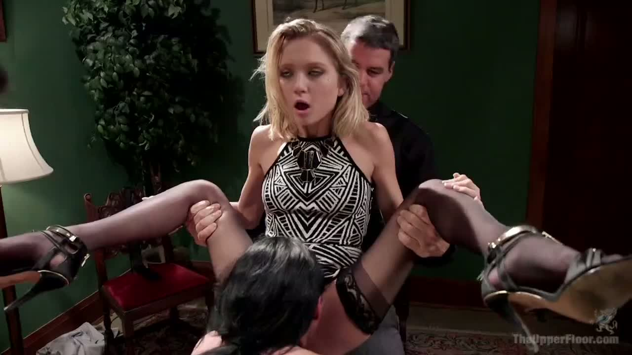 Interracial Sex Slave Gangbang