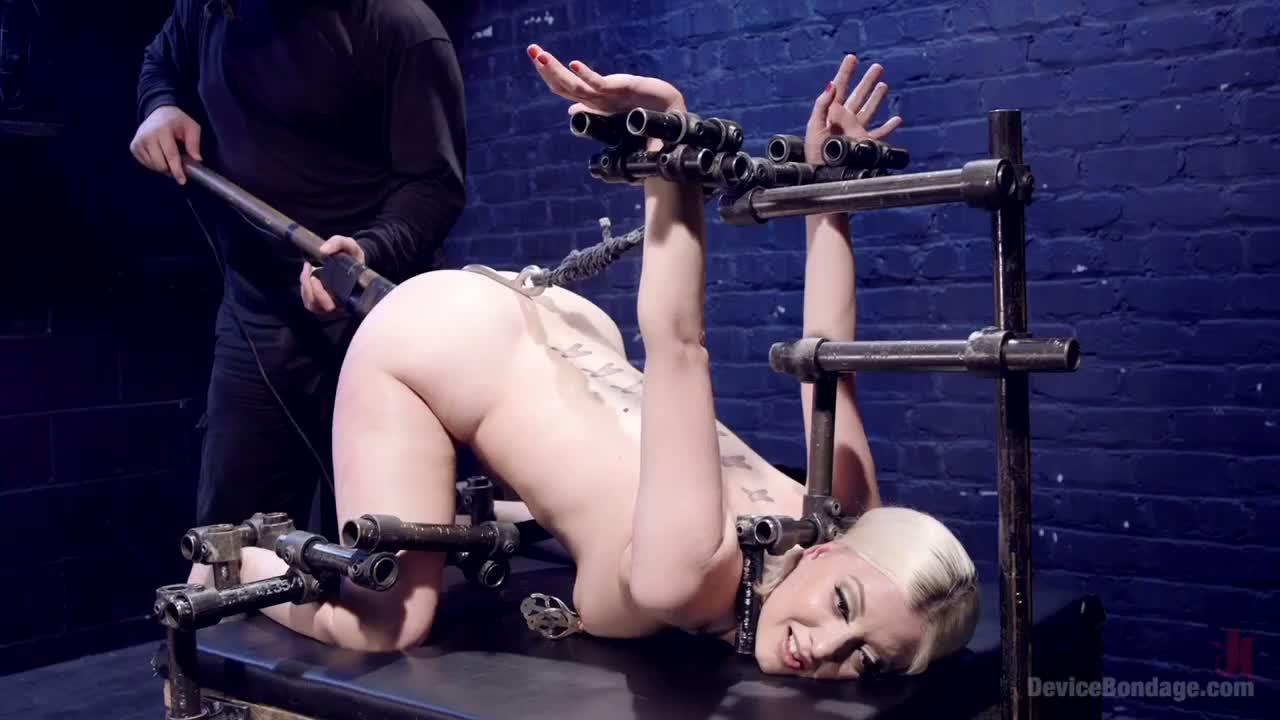 Beautiful blonde experiences rough punishment until she achieves multiple  orgasms @ goBDSM
