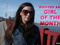 Taylor Vixen is the girl of the month on Whippedass