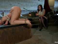 Kelly Divine gets her ass stuffed with a huge electrical plug
