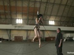 Exciting and helpless Asphyxia Noir is in this beautiful and interesting training session, worth to see