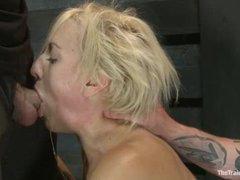 fucking a blonde slave - increasing skills