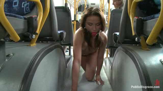 Naked nude sex bus