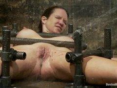 Rain DeGrey suffers through orgasm denial and water tortures