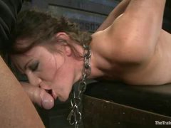 Sophie Monroe is put in predicament for torments and ass fucking