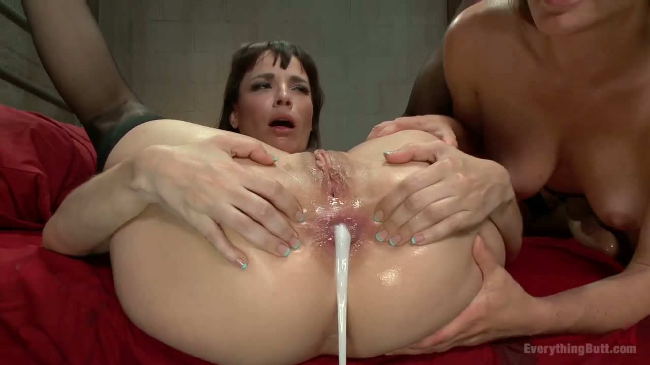 Anal And Big Boobs big boobs brunette is having wild anal fun with a hot raven