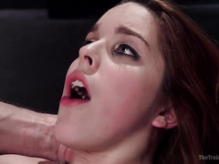 Painful and rough flogging sensation for breathtakingly beautiful redhead