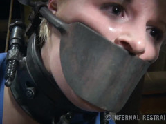 Blonde must endure rough and painful punishment in order to enjoy orgasms