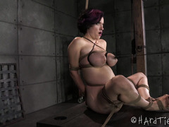 Tough beauty is in a state of grace as she enjoys tormenting punishment