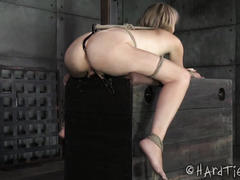 Big boobs blonde needs to whine for black master in order to appease his needs