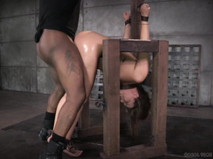 The unbearable sweetness of rough and vicious doggystyle drilling for cute babe